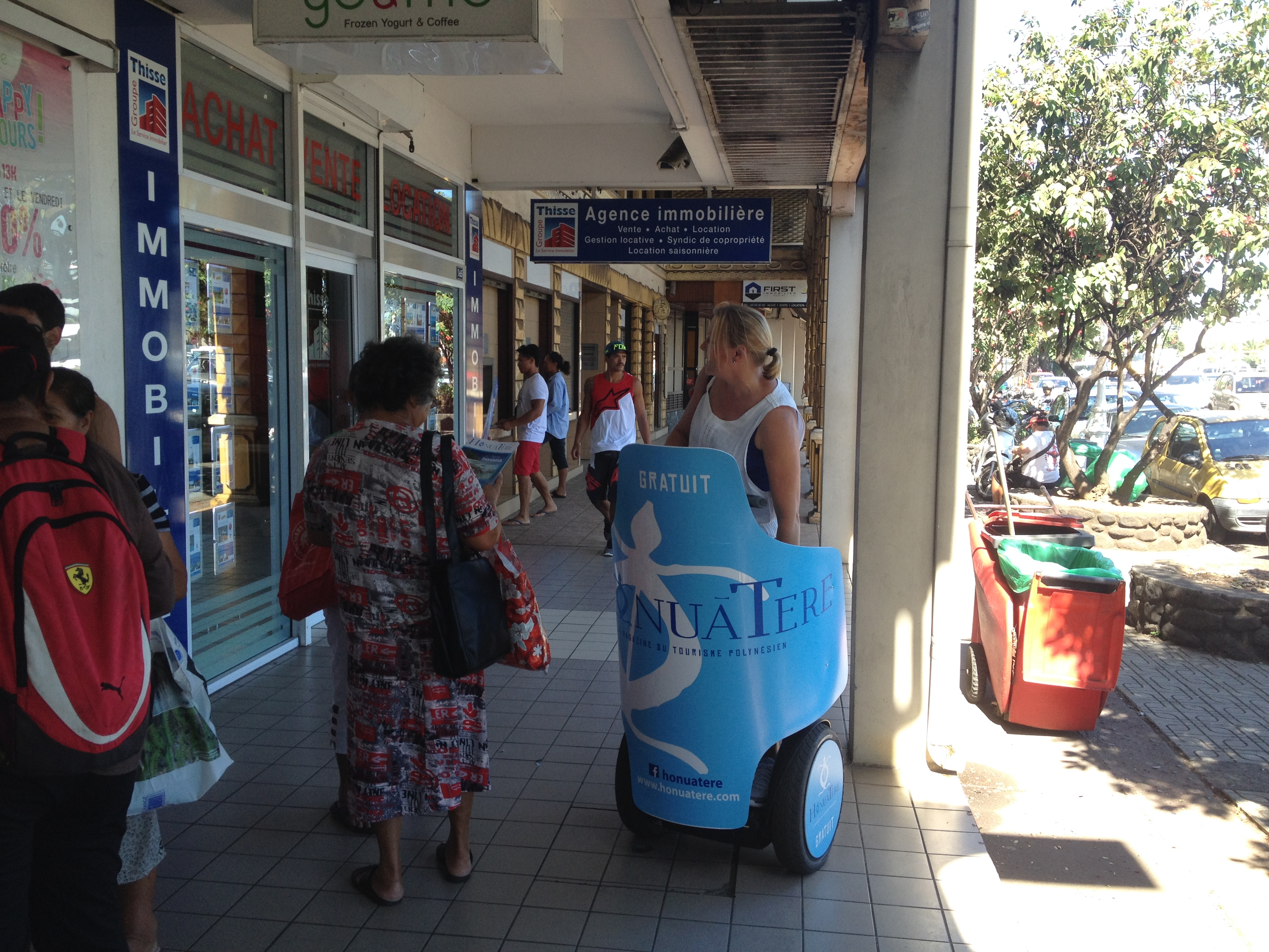 Street Marketing Segway Honuatere