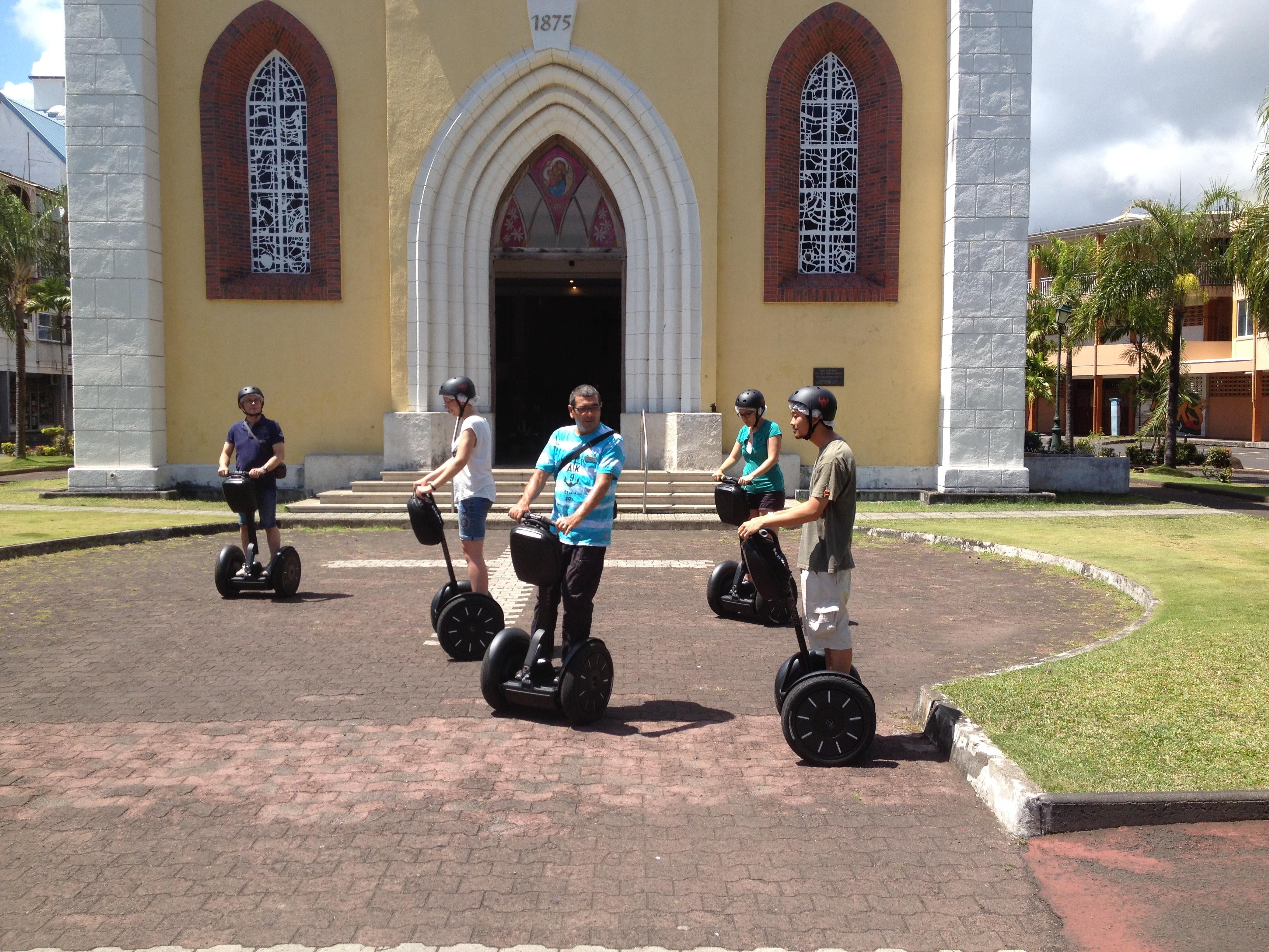 Balade Papeete en Segway cathédrale