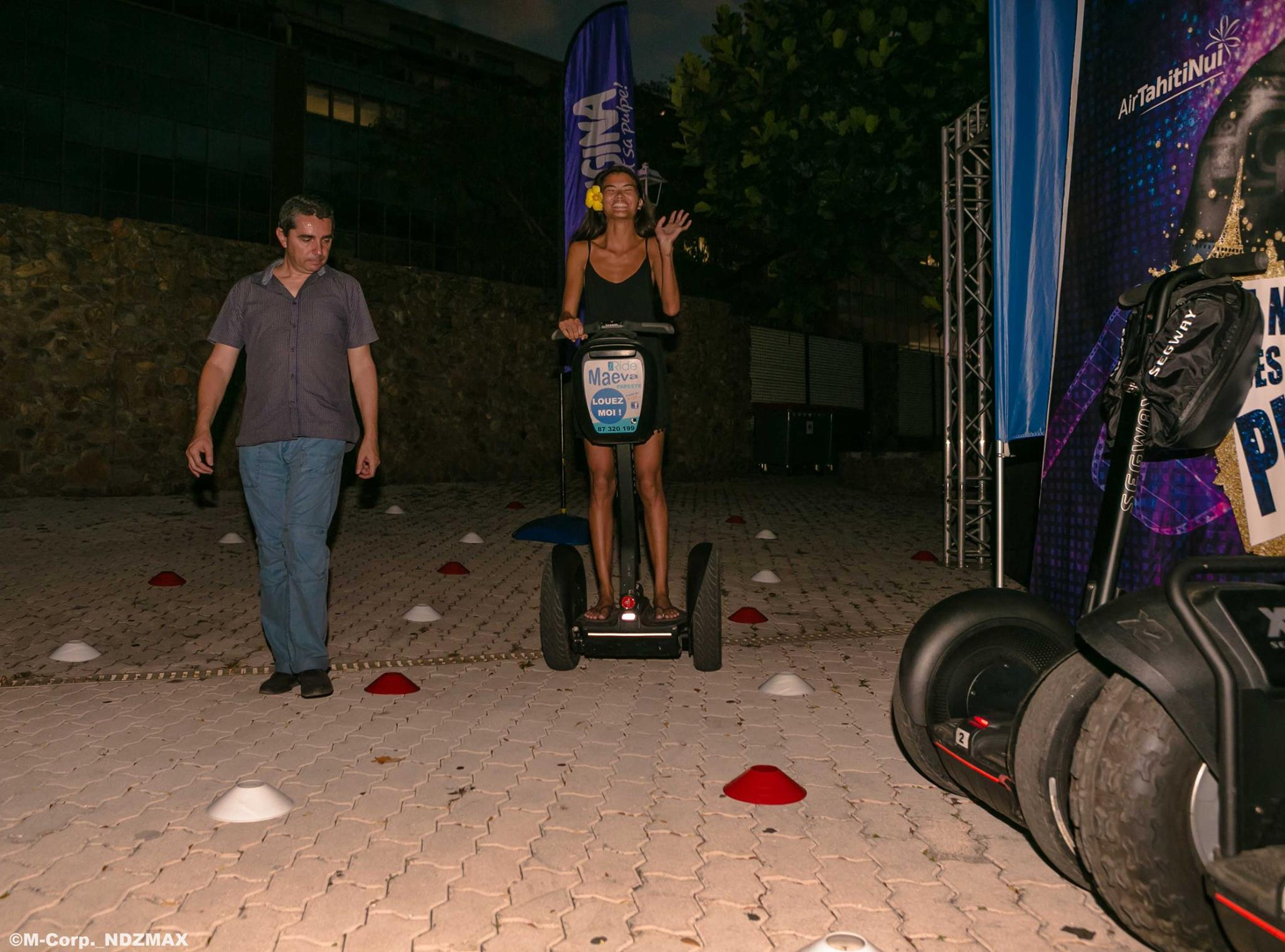 Initiation Segway Publivores Tahiti 2016