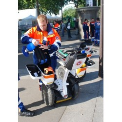 Protection civile en Segway
