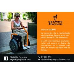 Publicité Segway Handicap