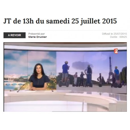 Reportage Segway france2