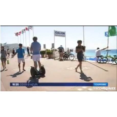 Reportage Segway france3