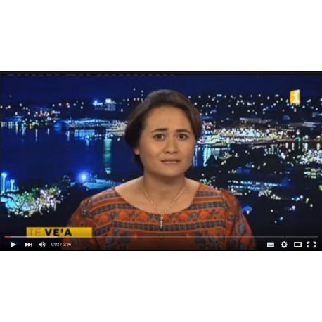Reportage Segway au JT de Polynésie 1ère en Tahitien