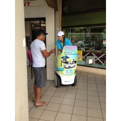 Street Marketing with Segway