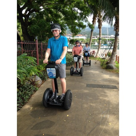 Circuits touristiques en Segway à Tahiti