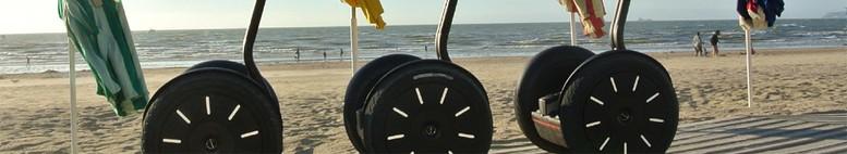 A la plage avec Segway